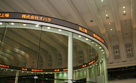 Listed on First Section of Tokyo Stock Exchange